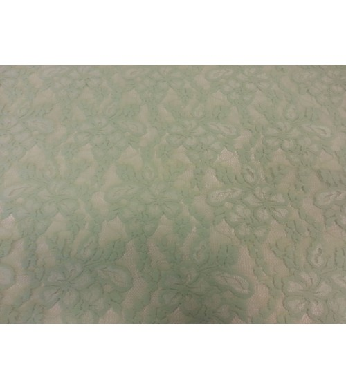 Stretch lace fabric