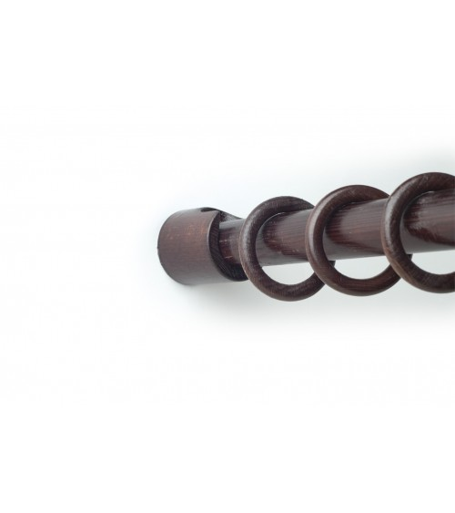 Wenge side wall mount