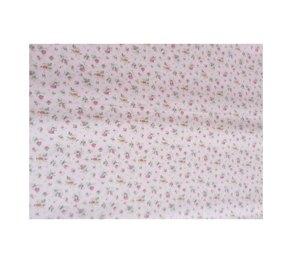0b8fa0d5f2 Virág mintás vászon fehér - Gabriel Tex - A minőségi textilfutár!