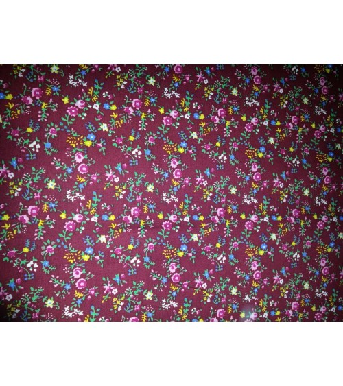 Flower figured linen mallow
