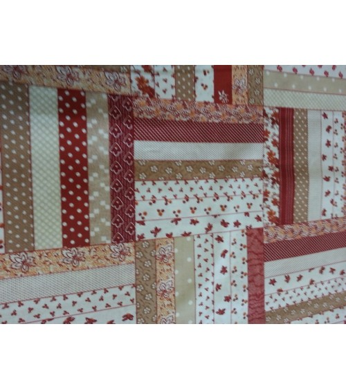 Ribbon figured linen
