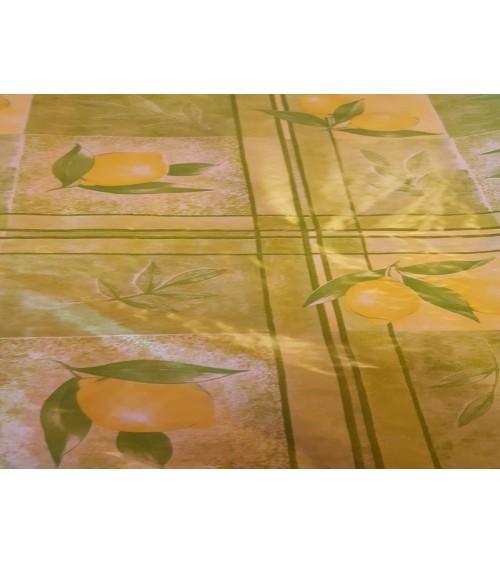 Citromos viaszos vászon
