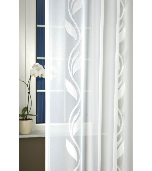 Kámea embroidered voile curtain 220 cm high