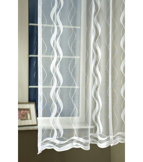 Jacquard 139882 curtain 200 cm high, made