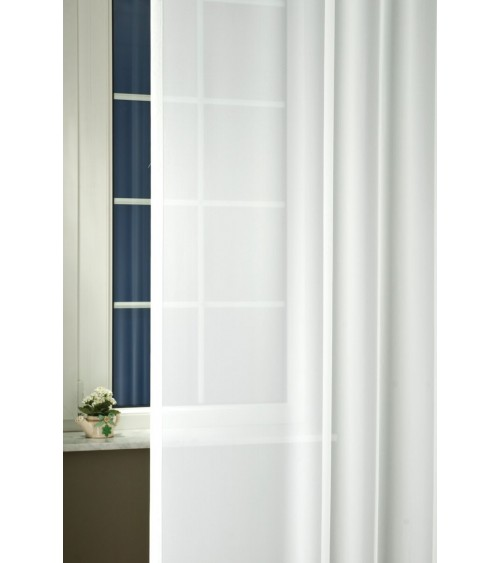 Csenge krepp voile curtain 300 cm high, made