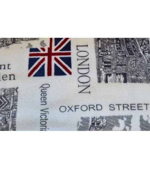 London figured breeze 200 cm wide material