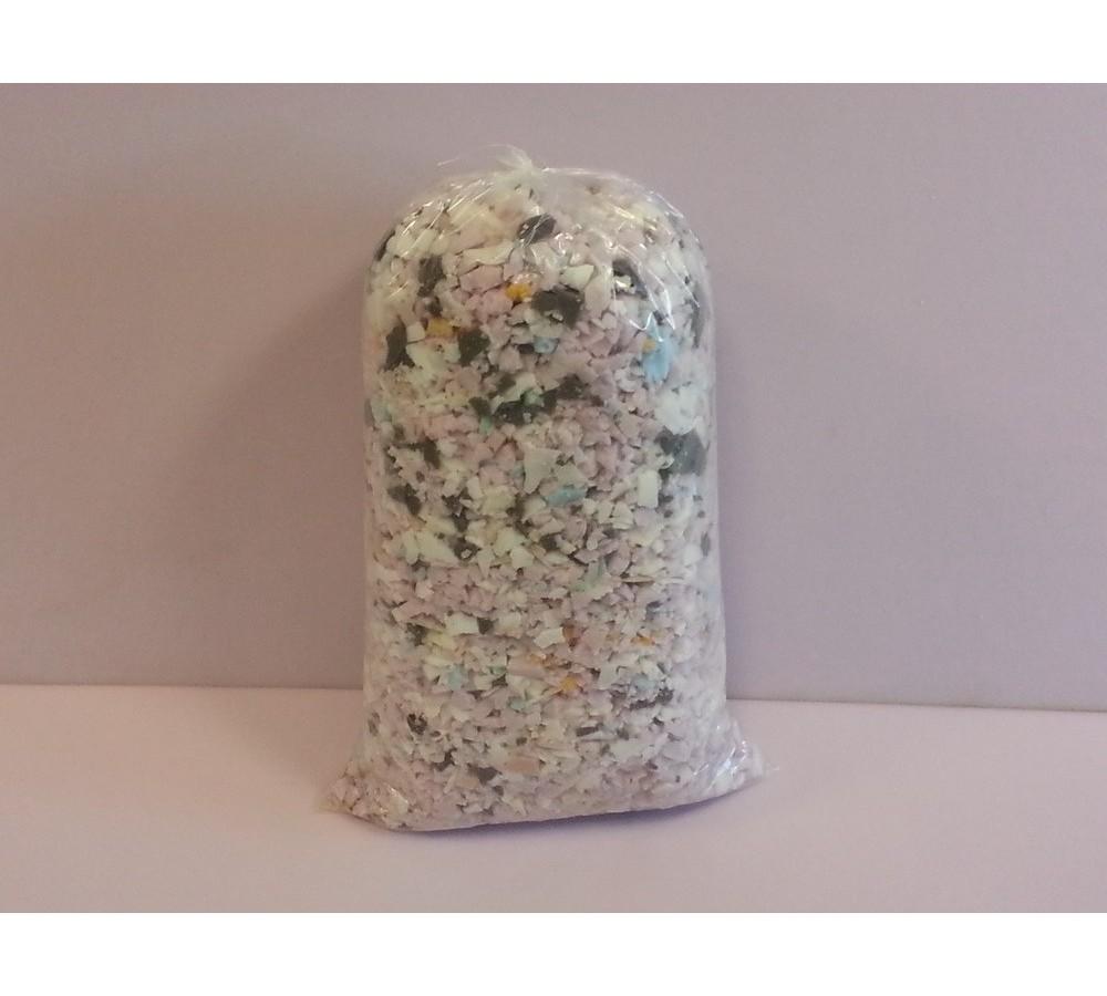 Jumbo crushed foam package