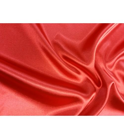 Piros sztrech szatén