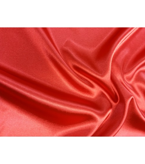 Red strech satin