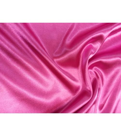 Pink sztrech szatén