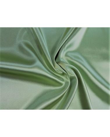 Pistachio green strech satin