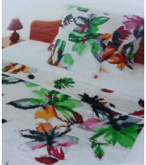 Cotton-satin colorful bedding