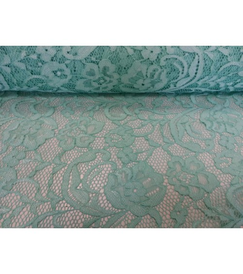 Light green lace