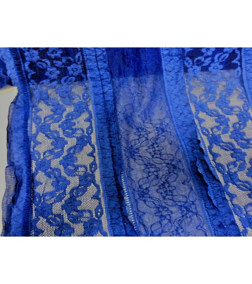 King blue lace