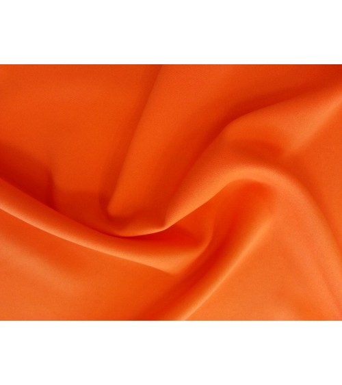 Strong orange panama fabric
