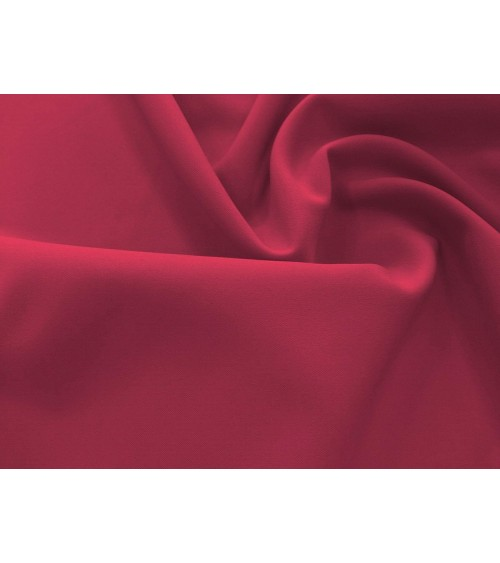 Sour cherry red panama fabric