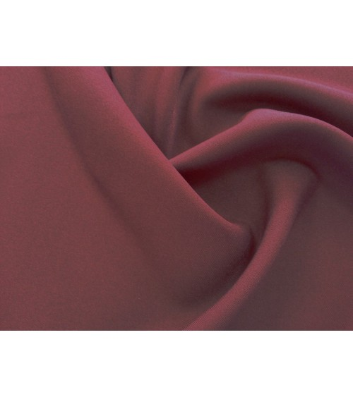 Dark red panama fabric