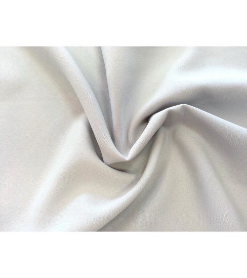 Light grey panama fabric