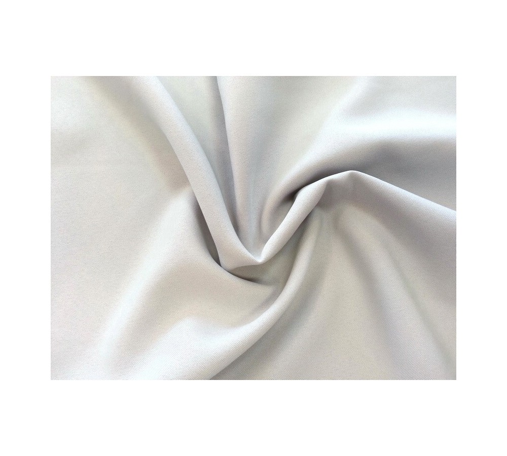 Light grey panama fabric