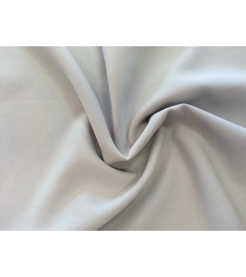 Middle grey panama fabric