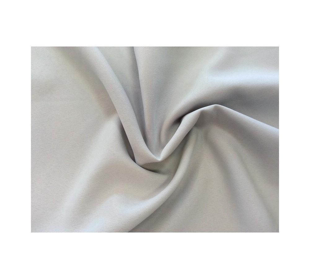 Middle grey panama fabric