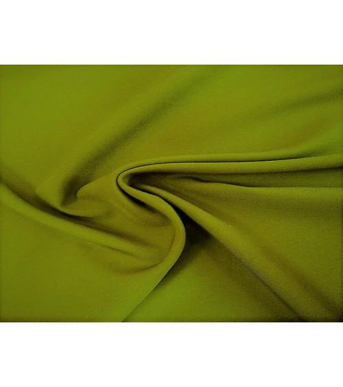 Light kheki green panama fabric