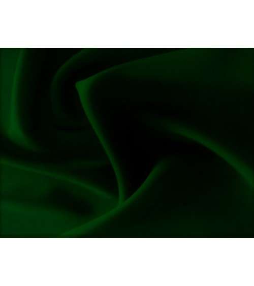 Dark green panama fabric