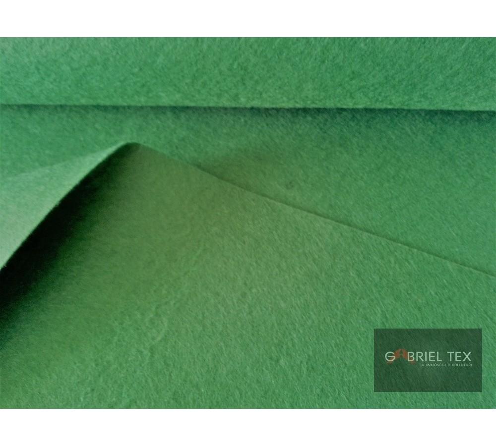Zöld színű dekor filc