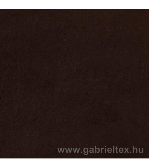 Gerda V17-7 plush dark brown colored furniture textile