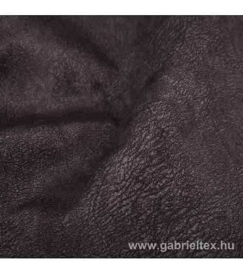 Mars black plush furniture textile M8-96