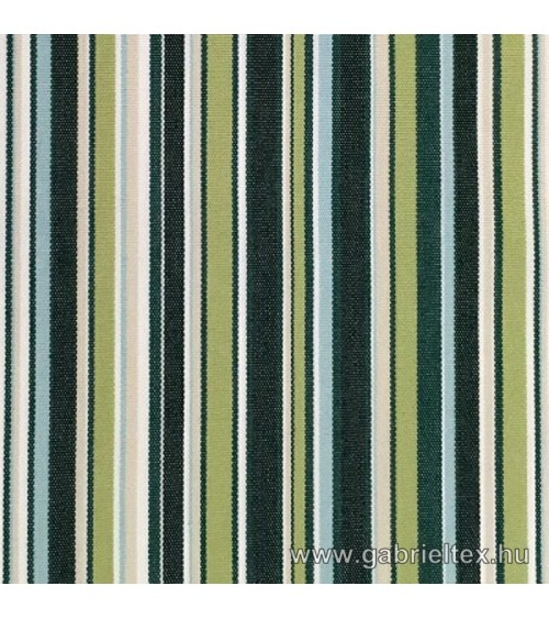 Kékes M9-1 green striped outdoor furniture textile