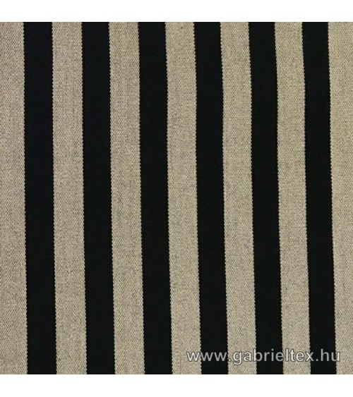 Kékes M9-14 light brown black striped outdoor furniture textile