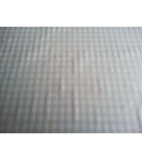Flower figured transparent waxed canvas