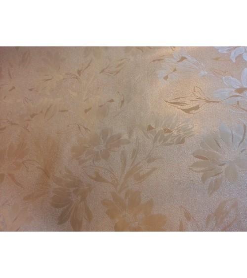 Homokszínű dekor viaszos vászon Dek-5