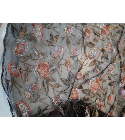 Colorful strech lace