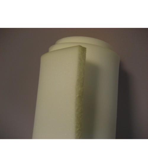 3 cm vastag 30-as, fehér színű szivacs, 140x200x3 cm-es