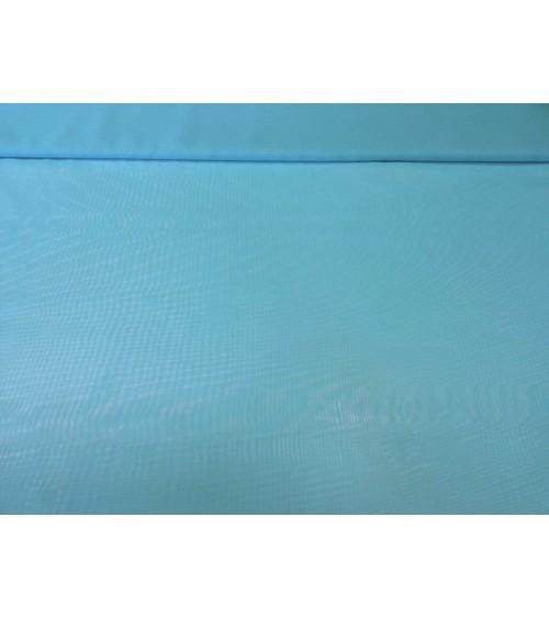 Világoskék színű muszlin anyag