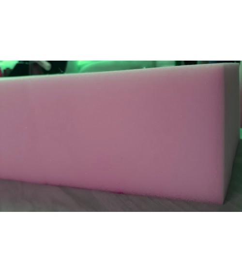 Ágybetét , 90x200x10 cm-es habszivacs 25-ös,lila színű