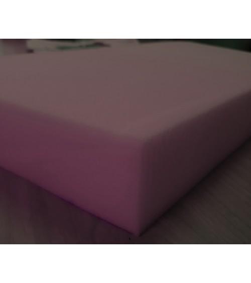 Ágybetét , 90x200x8 cm-es habszivacs 25-ös,lila színű