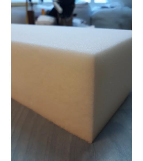 10 cm vastag 30-as, fehér színű szivacs, 140x200x10 cm-es