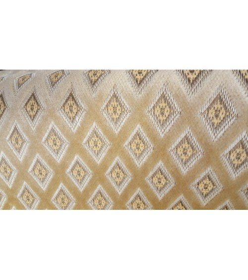 Light brown figured furniture textile