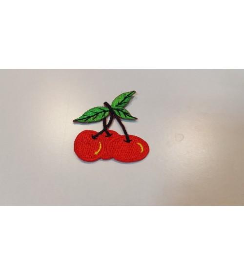 Cseresznyés vasalós címke, kicsi