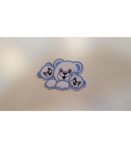 Teddy bear label, patch for kids