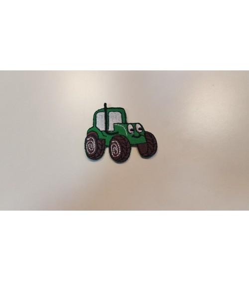 Traktoros vasalós címke