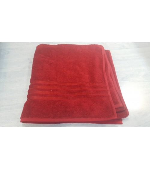 Red figured towels