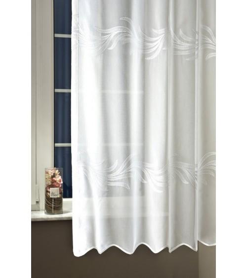 Hun curtain 210 cm high finished