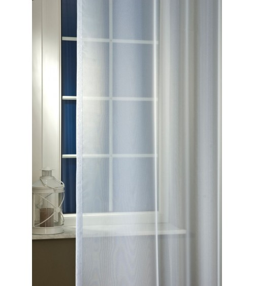 Lilla half-organza curtain 300 cm high