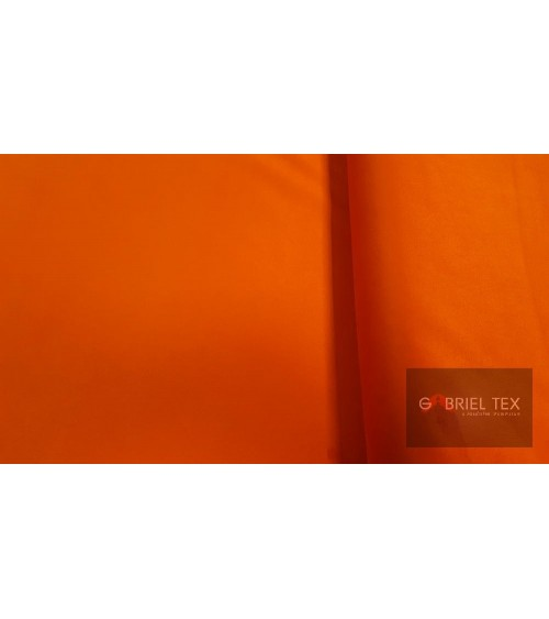 Orange deer skin textile