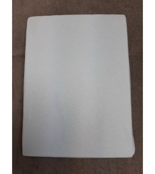Fehér színű gumis lepedő 140-160/ 200 cm