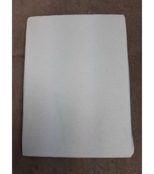 Fehér színű gumis lepedő 200 x 220 cm